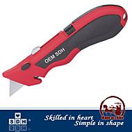 Factory Outlets quicke Messerwechsel einziehbare Gebrauchsmesser Ersatz 3 Klingen Klapp