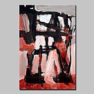 billiga Abstrakta målningar-Hang målad oljemålning HANDMÅLAD - Abstrakt fantasi Moderna Inkludera innerram