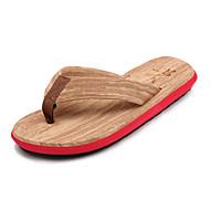 tanie Obuwie męskie-Męskie Buty Nylon Lato garbić buty Comfort Klapki i japonki Spacery na Casual Na wolnym powietrzu White Czerwony Green Niebieski