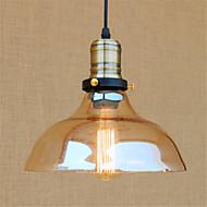 billige Takbelysning og vifter-Bowl Anheng Lys Omgivelseslys Krom Metall Glass Mini Stil, designere 110-120V / 220-240V Pære Inkludert / E26 / E27