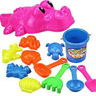 ちびっ子変装お遊び ビーチ用玩具 ビーチのおもちゃ おもちゃ 観賞魚用 クロコダイル アイデアジュェリー 男の子 女の子 12 小品