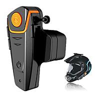 Bt-s2 1000m motorcykel a2dp bluetooth intercom trådløs vandtæt interntelefon hjelm headset mp3 fm radio hjelm headset