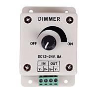 LED 조명 또는 리본 led 스트립 빛 DC12V 8A의 96w 주차 컨트롤러 스위치 12 볼트 8 ampadjustable 밝기 등을위한 PWM 디밍 컨트롤러