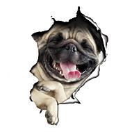 動物 カートゥン ファッション ウォールステッカー プレーン・ウォールステッカー 飾りウォールステッカー トイレステッカー,ビニール 材料 洗濯可 取り外し可 再利用可 ホームデコレーション ウォールステッカー・壁用シール
