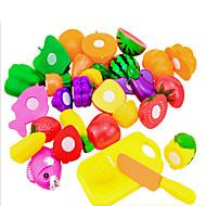 halpa -Muuttumisleikit Toy Kitchen Asettaa Lelut Lelut Lelut friut Uutuudet Pieces