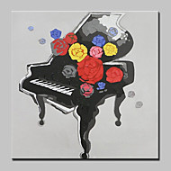 billiga Stilleben-HANDMÅLAD Abstrakt Stilleben olje,Moderna Europeisk Stil En panel Kanvas Hang målad oljemålning For Hem-dekoration