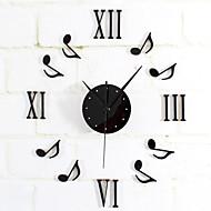 cheap Wall Clocks-Modern/Contemporary Retro Metal Round Novelty Indoor/Outdoor,AA Wall Clock