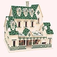 Dřevěné puzzle Slavné stavby Čínské stavby Dům profesionální úroveň Dřevěný 1pcs Dětské Chlapecké Dárek