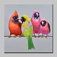 billiga POP Art-Hang målad oljemålning HANDMÅLAD - Popkonst Moderna Inkludera innerram