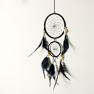cheap Wall Decor-2PC Dream Catcher Decor Hanging With Feathers Hanging Decoration Dreamcatcher Net India Style Hourse Decoration