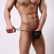 Men's G-string Underwear - Cut Out, Solid Colored Low Waist