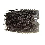 Brezilyalı Remy saç Remy Gerçek Saç Dalgaları Kinky Curly Remy İnsan Saç örgüleri