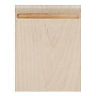 SAMDI macia esteira de madeira mouse pad multi-funcional com porta caneta superfície ultra suave para rato com porta caneta de madeira