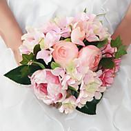 halpa -kaunis ihmisen ruusu pioni kukkakimppu häät tarvikkeet tyylikäs& moderni