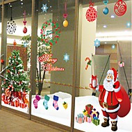 Christmas Romance Holiday Wall Stickers Plane Wall Stickers Decorative Wall Stickers,Paper Home Decoration Wall Decal For Wall