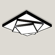 52cm Geometric Pattern Design Modern Style LED Ceiling Lamp Metal Flush Mount Living Room Bedroom