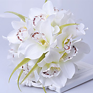 Beautiful Man-madeCymbidium Bouquet Wedding Accessories Chic & Modern