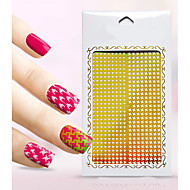 New Nail Art Hollow Stickers  Flower  Design Geometric Shape  Nail Beauty K031-040