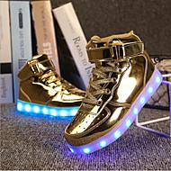 tanie Obuwie chłopięce-Dla chłopców Buty Syntetyczny Wiosna Lato Jesień Zima Świecące buty Modne obuwie Tenisówki Haczyk i pętelka na Atletyczny Casual Na