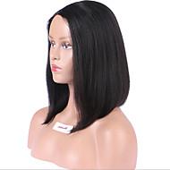 卸売ボブuの部分かつら1.5 * 4右側部分かつらブラジルの毛の12インチ130%密度ナチュラルカラー1.5 * 4右別れ