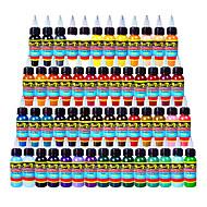 54 × 10 ml Culori de soiuri Cerneala Tattoo clasic pigment tatuaj culoare Set culori machiaj