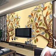 olcso -Art Deco 3D Wallpaper Otthoni Kortárs Falburkolat , Vászon Anyag ragasztószükséglet Falfestmény , szoba Falburkoló