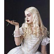 Vrouw Synthetische pruiken Golvend Blonde Cosplaypruik Kostuumpruik