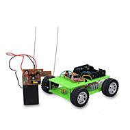 Aurinkoenergialla toimivat lelut DIY-setti Radio-ohjattavat Leluautot Lelut Auto DIY Poikien Pieces