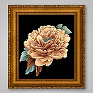 New Crafts Needlework 3D Diamond Painting Peony Flowers Cross Stitch Diy Diamond Drawing Picture Rhinestones Embroidery Crystals