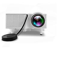 Χαμηλού Κόστους διάσημο εμπορικό σήμα-UNIC LCD Μίνι Προτζέκτορας LED Προτζέκτορας 500 lm Υποστήριξη 1080P (1920x1080) 10-100 inch Οθόνη / 4:3 και 16:9 / QVGA (320x240) / ±15°