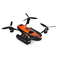 RC Dron WL Toys Q353 4 Kanala 6 OS 2.4G - RC quadcopter LED svjetla Povratak S Jednom Tipkom Auto-Polijetanja Izravna Kontrola Lebdjeti