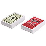 Monopoly Deal Giochi da tavolo Carte da gioco Monopoli Divertimento Carta Classico Da ragazzo Da ragazza Giocattoli Regalo