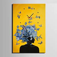 현대/현대 기타 벽 시계,직사각형 캔버스 35 x 50cm(14inchx20inch)x1pcs/ 40 x 60cm(16inchx24inch)x1pcs/ 50 x 70cm(20inchx28inch)x1pcs 실내 시계