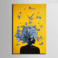 Moderno/Contemporâneo Outros Relógio de parede,Rectângular Tela35 x 50cm(14inchx20inch)x1pcs/ 40 x 60cm(16inchx24inch)x1pcs/ 50 x