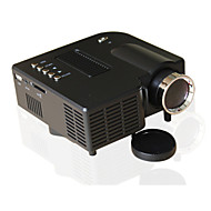 UNIC LCD Mini Projector LED Projector 500 lm Support 1080P (1920x1080) 10-100 inch Screen / 4:3 and 16:9 / QVGA (320x240) / ±15°
