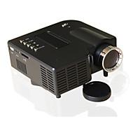 Χαμηλού Κόστους aao-UNIC LCD Μίνι Προτζέκτορας LED Προτζέκτορας 500 lm Υποστήριξη 1080P (1920x1080) 10-100 inch Οθόνη / 4:3 και 16:9 / QVGA (320x240) / ±15°