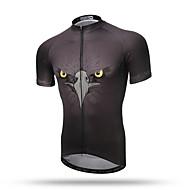 XINTOWN Biciklistička majica Muškarci Kratkih rukava Bicikl Majice Odjeća za vožnju biciklom Quick dry Prozračnost Povratak džep
