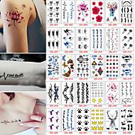 30 Tatoeagestickers Overige Non ToxicBaby Kind Dames Heren Tiener Tijdelijke tatoeage Tijdelijke tatoeages