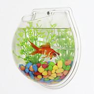 Mali akvariji Pozadine Umjetno Plastika
