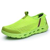 Unisex Mocasini & Balerini Primăvară Vară Toamnă Confortabili Tălpi cu Lumini Pantofi de cuplu Tul Outdoor Casual Atletic Toc PlatPapuci