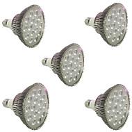 tanie Więcej Kupujesz, Więcej Oszczędzasz-5 szt. 200-300 lm E27 Żarówka Frow 18 Koraliki LED LED wysokiej mocy Czerwony / Niebieski 85-265 V / ROHS / CCC