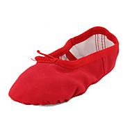 billiga Dansskor-Balettskor Textil Platta Platt klack Går ej att specialbeställas Dansskor Röd / Grön / Rosa / Inomhus / Prestanda / Träning