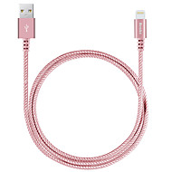 iPhone Cable Apple Certified Lightning to USB Cable Benks MFI 3.3ft (1m) 2.4A Fast Charge for iPhone X 8 8plus 7 6s 6 Plus SE 5s 5c 5 iPad Data Cable