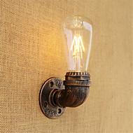 billige Vegglamper med LED-Land Retro Rød LED Vegglampe Til Metall Vegglampe 110-120V 220-240V 4W