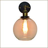 billige Vegglamper-Rustikk / Hytte Vegglamper Metall Vegglampe 110-120V / 220-240V 4W / E27
