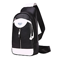 Unisex Bags PU Sling Shoulder Bag for Casual Sports Formal Outdoor Professioanl Use All Seasons Blue Black Brown