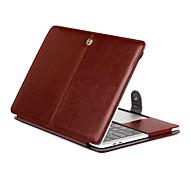 para MacBook Pro 15,4 13,3 nova pro15.4 13,3 polegadas tablet ultra luxo folio magnética slim padrão de cavalo tampa da caixa de couro