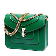 Women Bags Winter PU Shoulder Bag for Casual Green