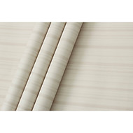 Stribe Solid Tapet til Hjemmet Moderne Tapetsering , PVC/Vinyl Materiale selvklebende nødvendig bakgrunns , Tapet