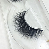 Eyelashes lash Full Strip Lashes Eyes Handmade Animal wool eyelash Black Band